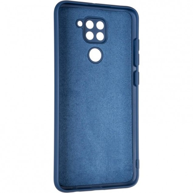 Full Soft Case for Xiaomi Redmi Note 9 Blue