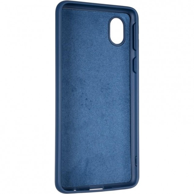 Full Soft Case for Samsung A013 (A01 Core) Dark Blue
