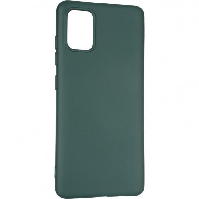Full Soft Case for Samsung A515 (A51) Dark Green