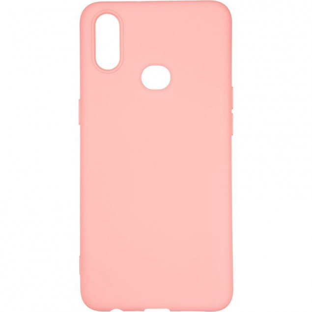 Full Soft Case for Samsung A107 (A10s) Pink