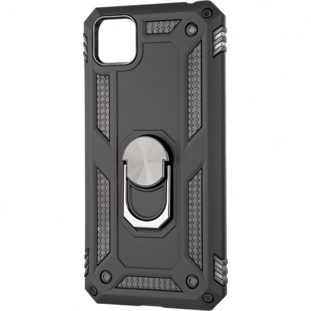HONOR Hard Defence Series New for Huawei Y5P Black