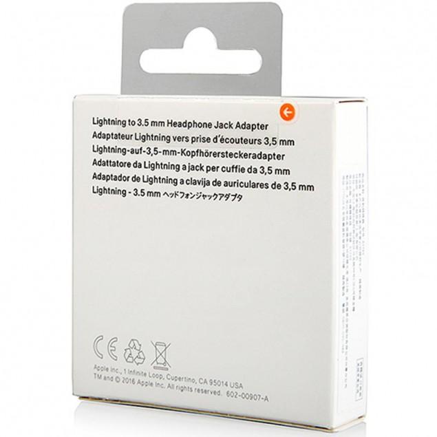 Adapter Apple Lightning -> 3.5mm White (Only Music)