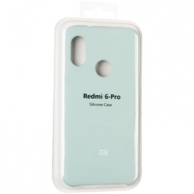 Original 99% Soft Matte Case for Xiaomi Redmi 6 Pro Mint