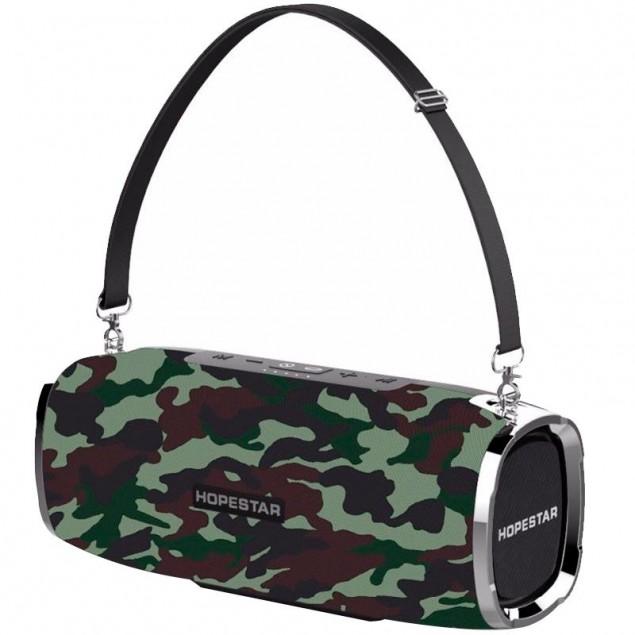 Bluetooth Колонка Hopestar A6 Pro Army (with mic + equalizer)