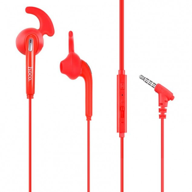 HF Hoco M6 Red + mic + button call answering + volume control