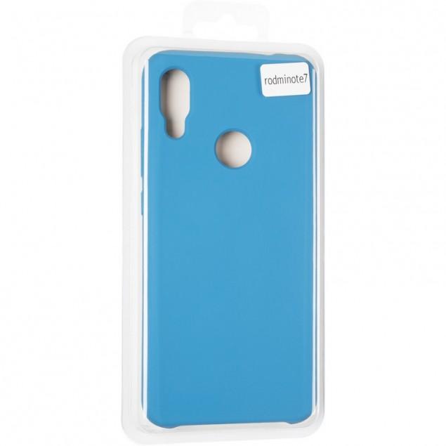 Original 99% Soft Matte Case for Xiaomi Redmi Note 7 Blue