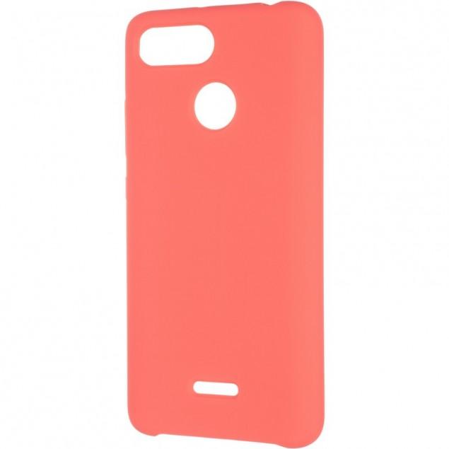Original 99% Soft Matte Case for Xiaomi Redmi 6 Rose Red