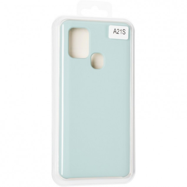 Original 99% Soft Matte Case for Samsung A217 (A21s) Mint