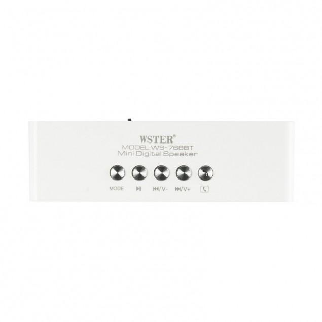 Bluetooth Колонка WS-768BT White