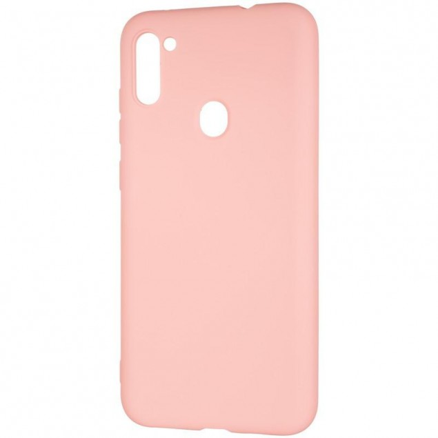 Full Soft Case for Samsung A115 (A11)/M115 (M11) Pink