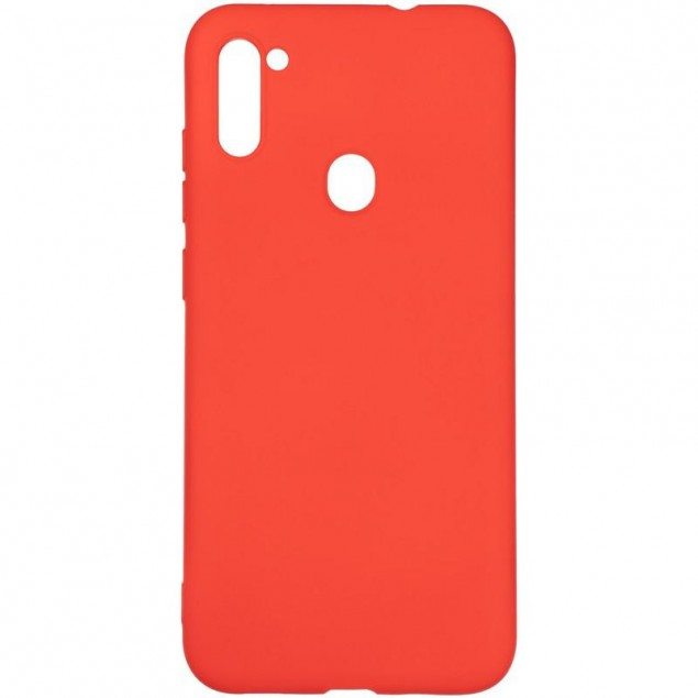 Full Soft Case for Samsung A115 (A11)/M115 (M11) Red