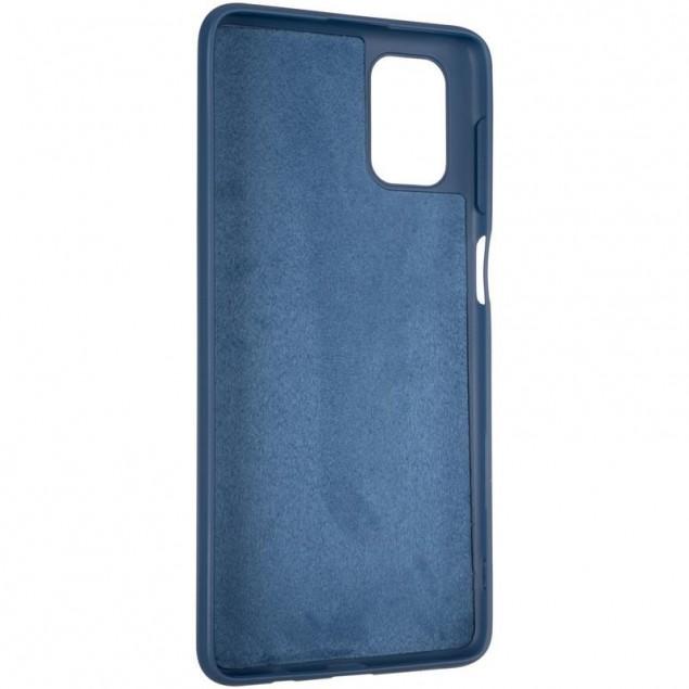 Full Soft Case for Samsung M515 (M51) Blue