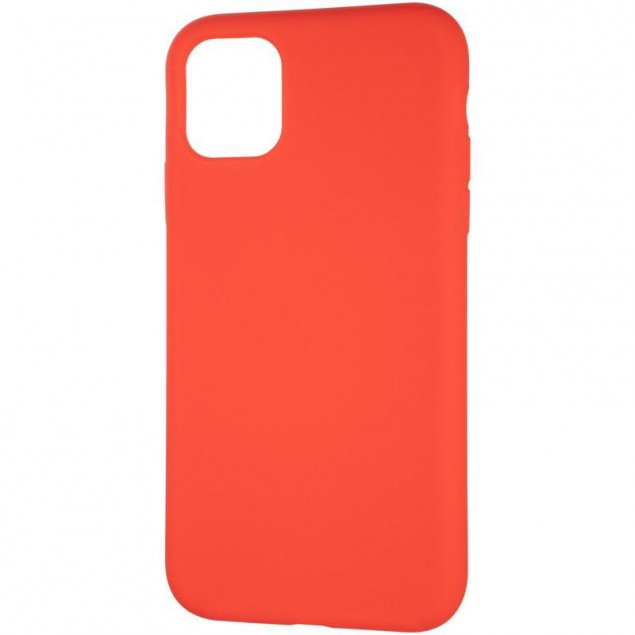 Original Full Soft Case for iPhone 11 Red (without logo)