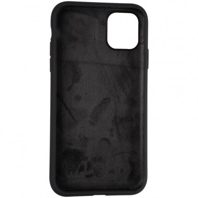 Original Full Soft Case for iPhone 11 Black (without logo)