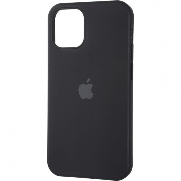 Original Full Soft Case for iPhone 12 Mini Black