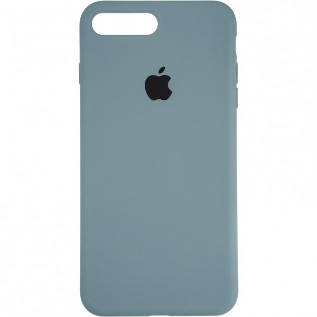 Original Full Soft Case for iPhone 7 Plus/8 Plus Granny Grey