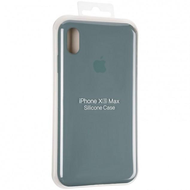 Original Full Soft Case for iPhone XS Max Granny Grey
