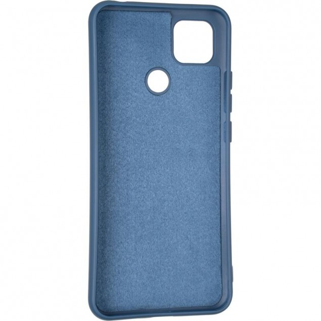 Full Soft Case for Xiaomi Redmi 9c Blue