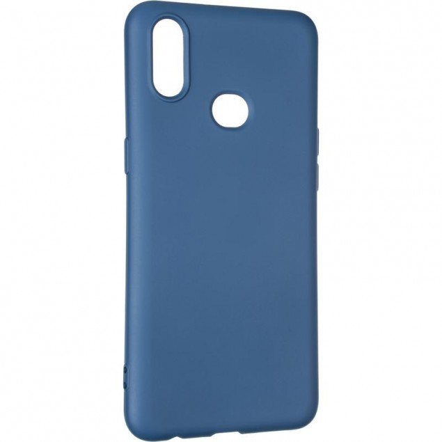 Full Soft Case for Samsung A107 (A10s) Blue