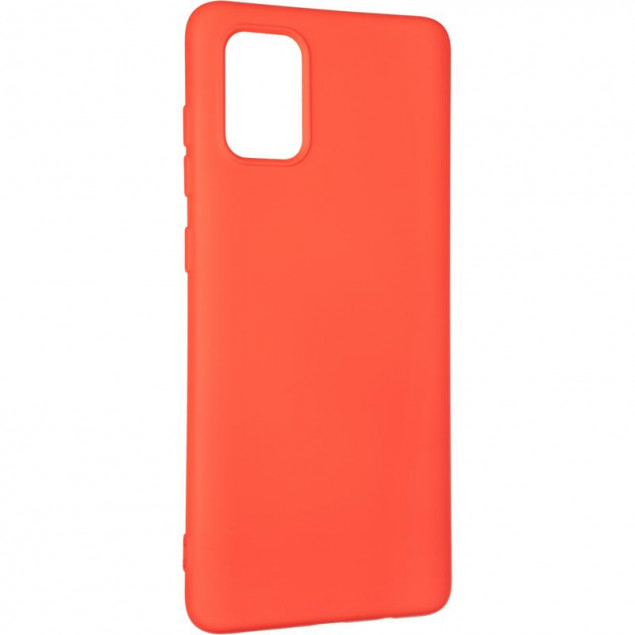 Full Soft Case for Samsung A715 (A71) Red