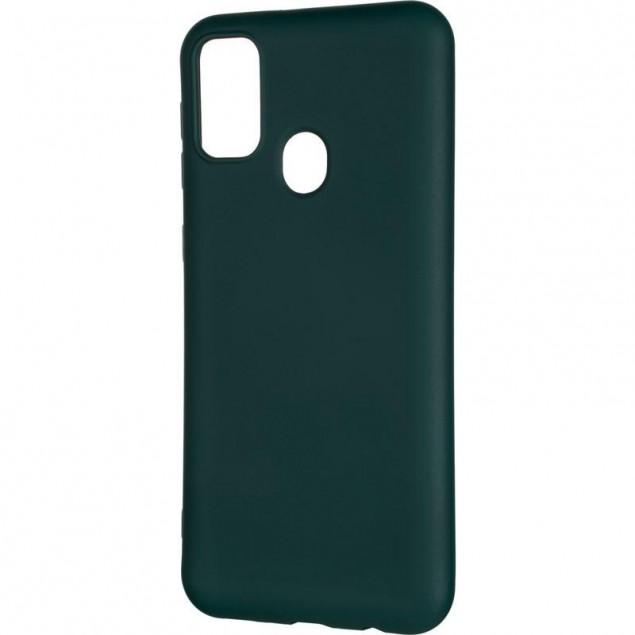 Full Soft Case for Samsung M307 (M30s)/M215 (M21) Dark Green