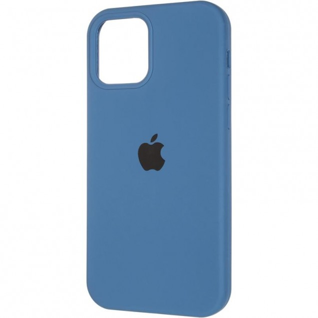 Original Full Soft Case (MagSafe) for iPhone 12 Pro Max Blue