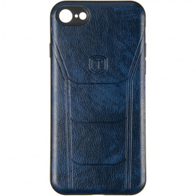 Leather Prime Case for Samsung A505 (A50) Blue