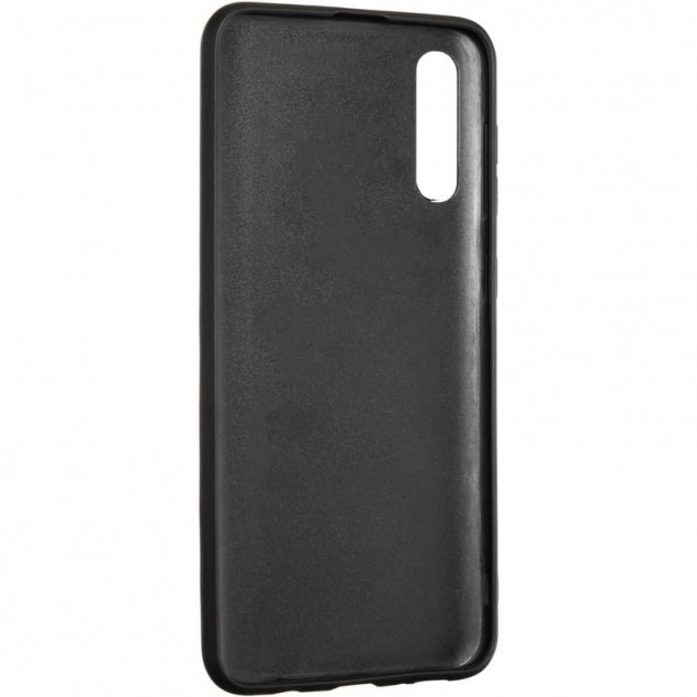 Jesco Leather Case for Samsung A307 (A30s) Blue