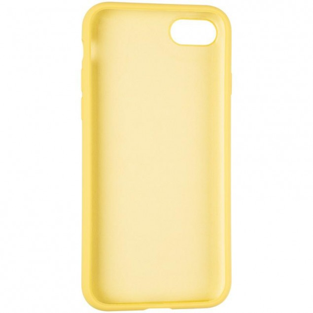 Original Full Soft Case for iPhone 7/8 Canary Yellow (without logo)