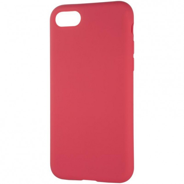 Original Full Soft Case for iPhone 7/8 Garnet (without logo)