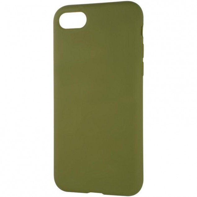 Original Full Soft Case for iPhone 7/8 Pinery Green (without logo)