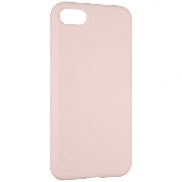 Original Full Soft Case for iPhone 7/8 Pink Sand (without logo)