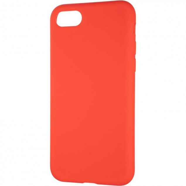 Original Full Soft Case for iPhone 7/8 Red (without logo)