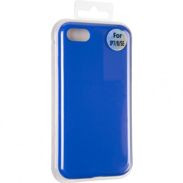 Original Full Soft Case for iPhone 7/8 Sapphire Blue (without logo)