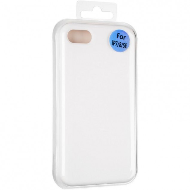 Original Full Soft Case for iPhone 7/8 White (without logo)