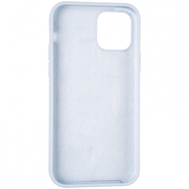Original Full Soft Case for iPhone 12/12 Pro Lilac (without logo)