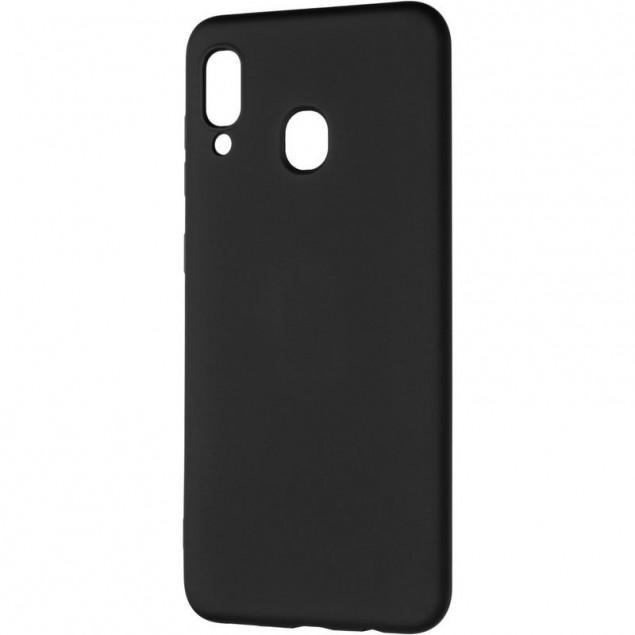 Full Soft Case for Samsung A305 (A30) Black