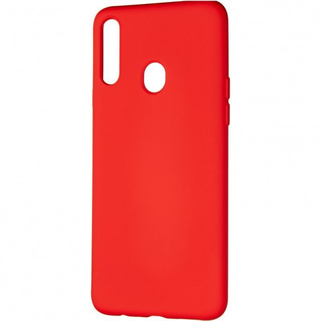 Full Soft Case for Samsung A207 (A20s) Red