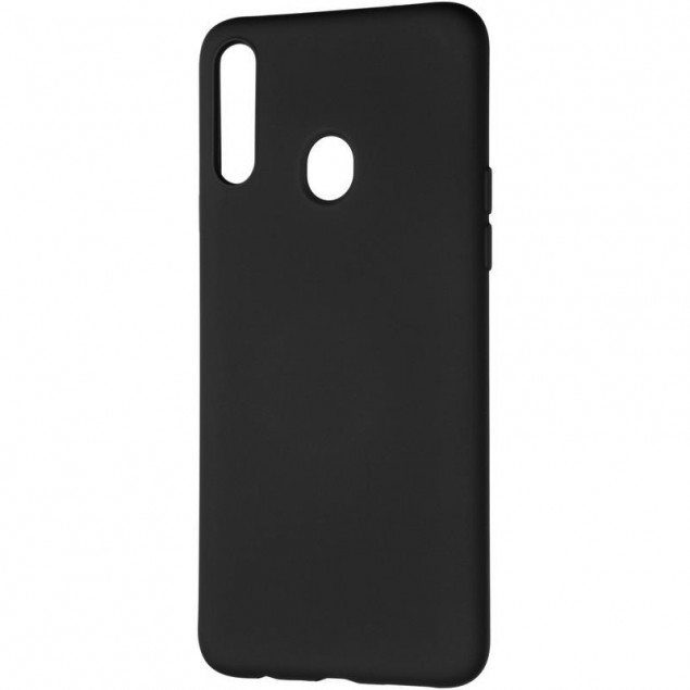 Full Soft Case for Samsung A207 (A20s) Black