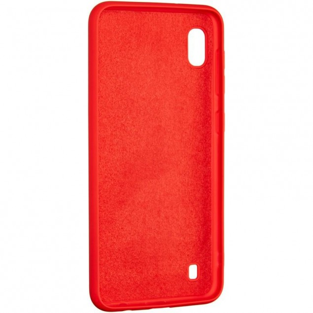 Full Soft Case for Samsung A105 (A10) Red
