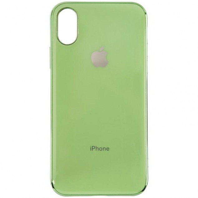 Anyland Deep Farfor Case for iPhone X/XS Green