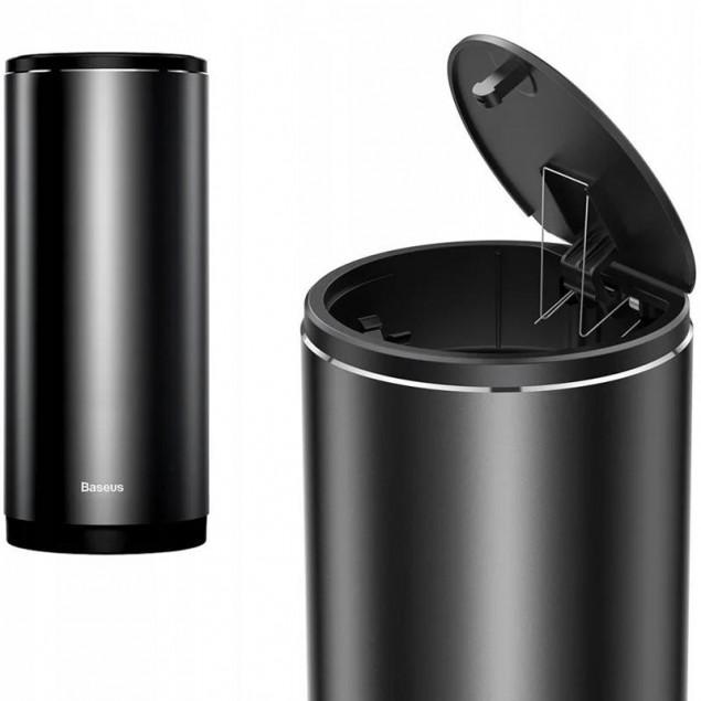 Baseus Car Trash Can Black (CRLJT-01) (Автомобильный контейнер для мусора)