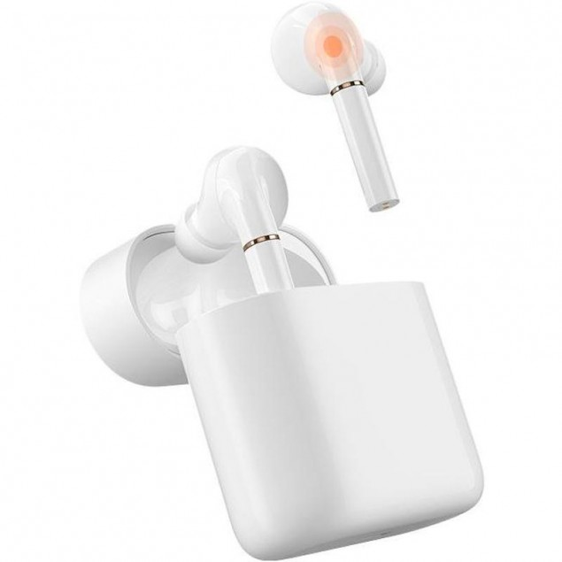 Xiaomi (OR) Stereo Bluetooth Headset Haylou T19 TWS Earbuds White(Стерео блутуз гарнитура)