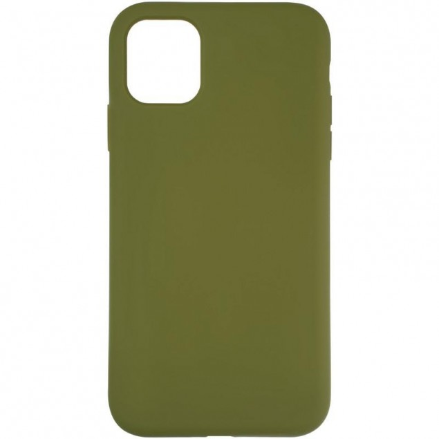 Original Full Soft Case for iPhone 11 Pinery Green (without logo)
