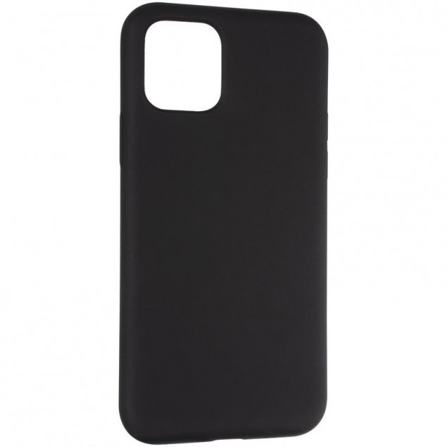 Original Full Soft Case for iPhone 11 Pro Black (without logo)
