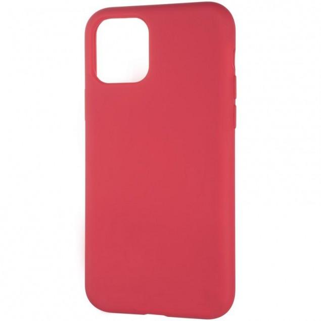 Original Full Soft Case for iPhone 11 Pro Garnet (without logo)