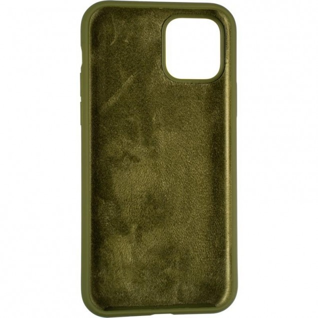 Original Full Soft Case for iPhone 11 Pro Pinery Green (without logo)