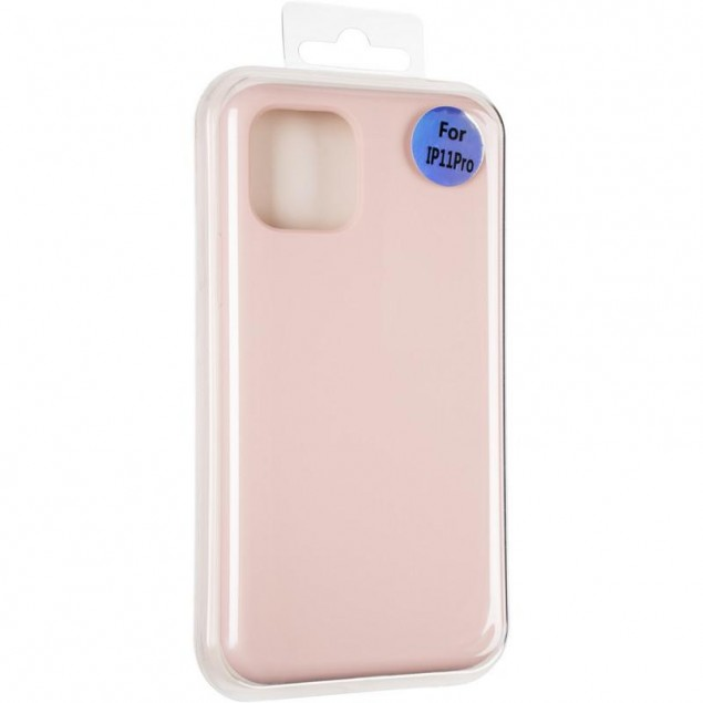 Original Full Soft Case for iPhone 11 Pro Pink Sand (without logo)