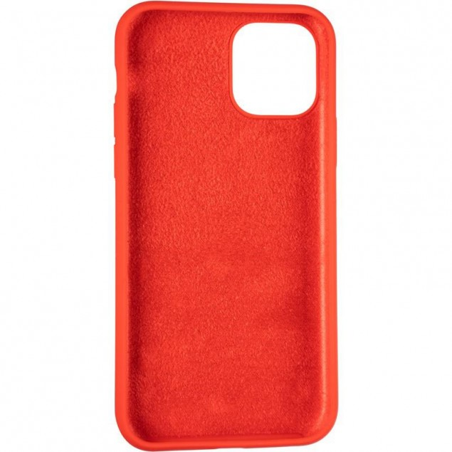 Original Full Soft Case for iPhone 11 Pro Red (without logo)