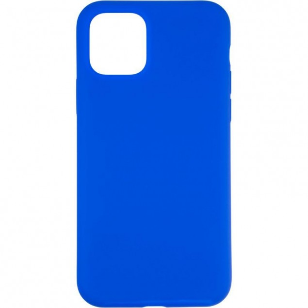Original Full Soft Case for iPhone 11 Pro Sapphire Blue (without logo)